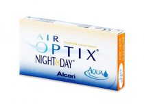 Alcon Air Optix Night & Day Aqua - 3 darab kontaktlencse