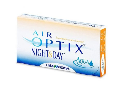 Alcon Air Optix Night & Day Aqua - 6 darab kontaktlencse