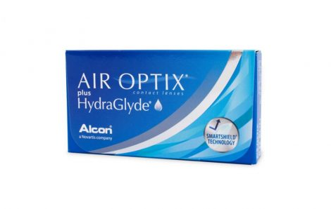 Alcon Air Optix Plus HydraGlyde - 3 darab kontaktlencse