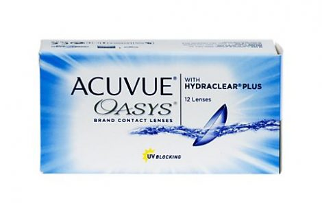 Johnson & Johnson Acuvue Oasys with Hydraclear Plus - 12 darab kontaktlencse