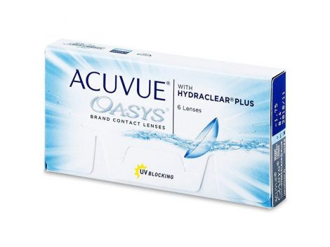 Johnson & Johnson Acuvue Oasys with Hydraclear Plus - 6 darab kontaktlencse