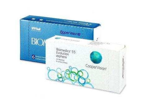CooperVision Biomedics 55 - 6 darab kontaktlencse