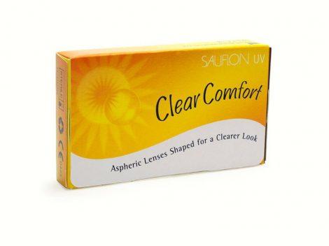 Sauflon Clear Comfort - 3 darab kontaktlencse