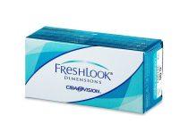 Alcon FreshLook Dimensions - 2 darab kiemelő színes kontaktlencse