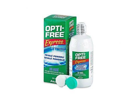 Alcon Opti-Free Express - 355 ml ápolófolyadék + tároló tok