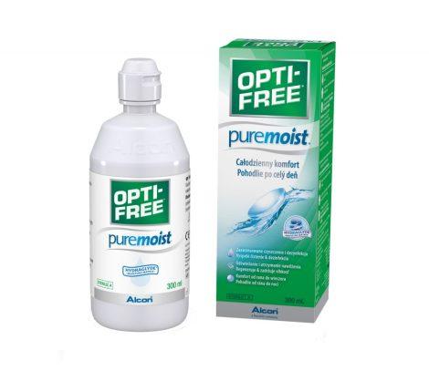 Alcon Opti-Free PureMoist - 300 ml ápolófolyadék + tároló tok