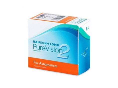 Bausch & Lomb PureVision 2 Toric - 6 darab kontaktlencse