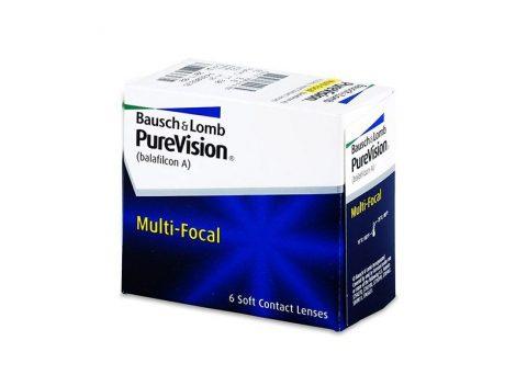 Bausch & Lomb PureVision Multi-Focal - 6 darab kontaktlencse