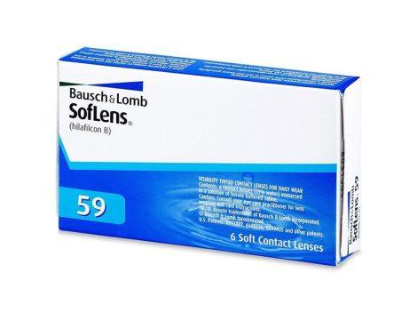 Bausch & Lomb SofLens 59 - 6 darab kontaktlencse