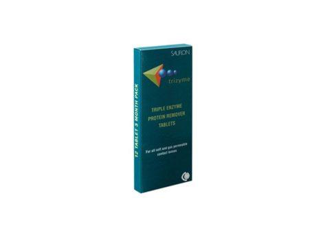 Sauflon Trizyme - 12 darab kontaktlencse tisztító tabletta